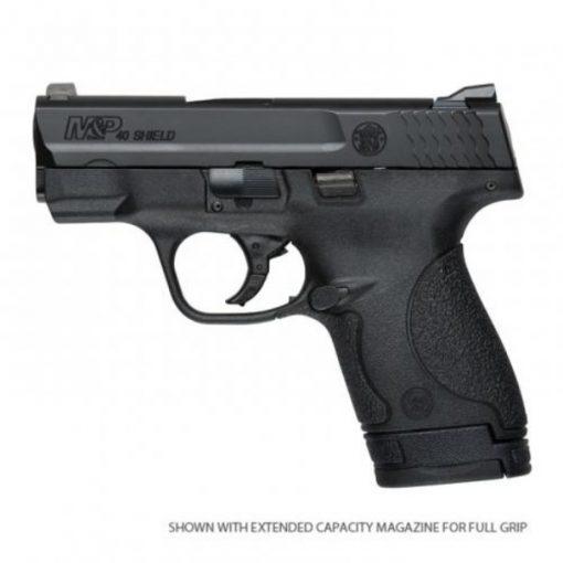 "Smith & Wesson M&P Shield .40 Semi-Auto 3.1"" Barrel 6 Rounds No External Safety Polymer Frame Black"
