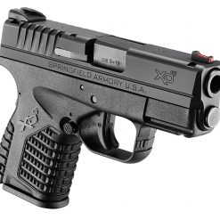 Springfield XDS black front side view