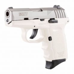 SCCY CPX-2 White w/ stainless slide pistol