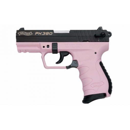 Walther PK380 Pink/Black Pistol