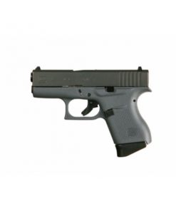Glock 43 grey side view grey