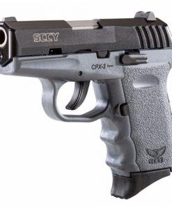 SCCY CPX-2 Grey & Black Slide 9mm pistol
