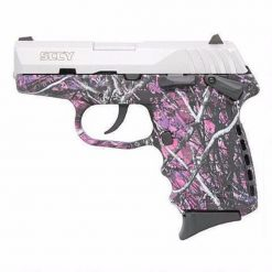 SCCY CPX-2 Muddy girl & Stainless frame 9mm pistol