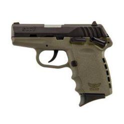 SCCY CPX-1 Flat Dark Earth frame & Black Slide 9mm Pistol