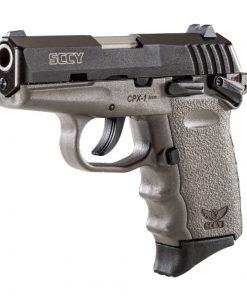 SCCY CPX-1 Grey frame & Black Slide 9mm Pistol