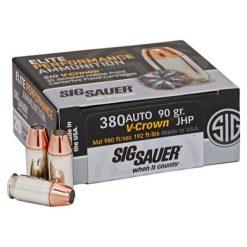Sig Sauer Elite Performance .380ACP JHP