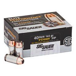 Sig Sauer Elite 40 jhp ammo