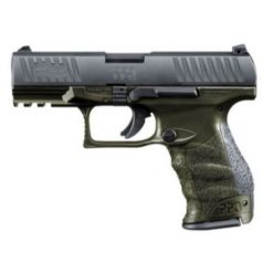 walther ppq od green