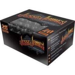 Jesse James Black Label Ammunition 9mm Luger 115 Grain Hollow Point