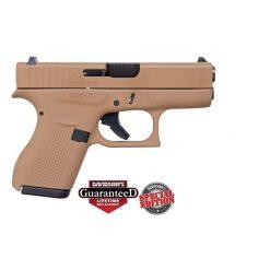 Glock 42 Full FDE Flat Dark Earth Special Edition .380 ACP Pistol