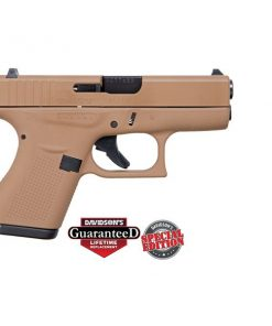 Glock 42 Full FDE Flat Dark Earth Special Edition .380 ACP Pistol