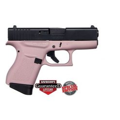 GLOCK 43 PINK BLACK SLIDE USA 9MM PST CKPKEB