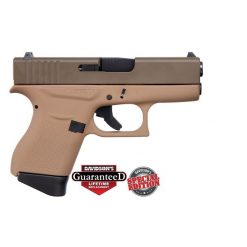 GLOCK 43 PATRIOT BROWN USA 9MM PISTOL CKDDEPB