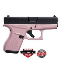 Glock 42 Pink w/ Black Slide Special Edition .380 ACP Pistol