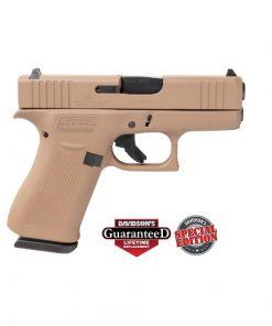 Glock 43X Full FDE Frame 9MM 10 Round Pistol