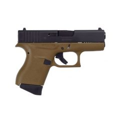 Glock 43 FDE Frame 9mm Compact Pistol