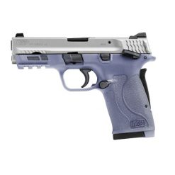 SMITH & WESSON SHIELD 2.0 EZ ORCHID PURPLE & STAINLESS 380ACP 8RD TS