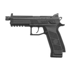 CZ P09 Threaded 9mm Black 21rd Ns Pistol