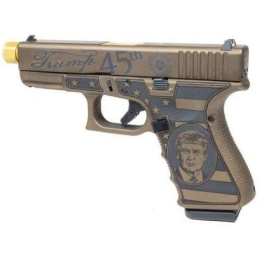 """Glock 19 Gen3 9mm """"TRUMP EDITION"""" Pistol"""