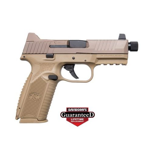 FN 509 TACTICAL 9MM FDE 24+1 NIGHT SIGHTS PISTOL