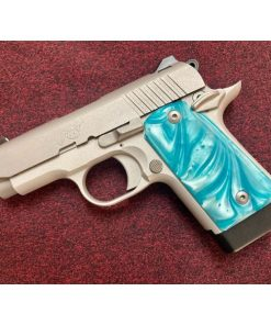 Kimber Micro 9 Robins Egg Blue Pearl Grips 9mm Pistol