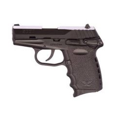 "SCCY CPX-1 Black Frame & Black Slide 9mm 3.1"" Barrel 10 Rounds Pistol"