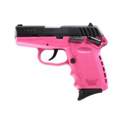 "SCCY CPX-1 Pink Frame & Black Slide 9mm 3.1"" Barrel 10 Rounds Pistol"