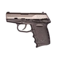 SCCY CPX-1 Black frame & Stainless Slide 9mm Pistol