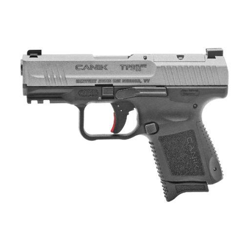 "Century TP9 Elite Sub-Compact 9mm Luger 3.60"" Black Tungsten Gray Pistol"