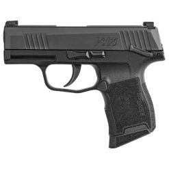 "SIG SAUER P365 9MM SAFETY 3.1"" BL/SYN NITE SIGHT 10+1 PISTOL"