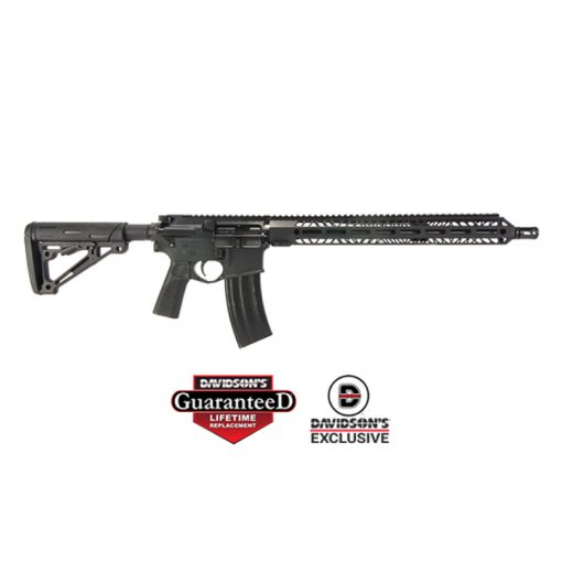 Item #: NS15 UPC: 860005765201 Description: NRT NS15 RFL 5.56 16B 30R BLK Brand: North Star Arms Model: NS15 Type: Rifle: Semi-Auto Caliber: 5.56 NATO|223 Finish: Black Action: Semi-Automatic Stock: Hogue Adjustable Stock Barrel Length: 16 Ballistic Advantage QPQ Coated HBAR Overall Length: 36 Extended 33 Collapsed Weight: 6 lbs 5 oz Capacity: 30+1 # of Mags: 1 Receiver: Anodized Aluminum Muzzle: A2 Flash Hider Features: 1:7 RH Twist, 15 MLOK Rail, Mid Length Gas System; Hogue 15 Degree Grip, Hogue Trigger Guard