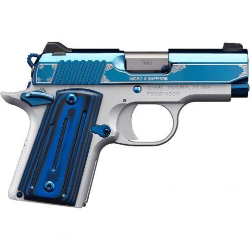 Kimber Micro 9 Sapphire 9MM Semi-Automatic Pistol #3300111